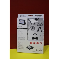 "Funda Tablet Universal 10,1"" Black & White"
