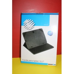 "Funda Tablet universal 10,1"" Polipiel Negra"