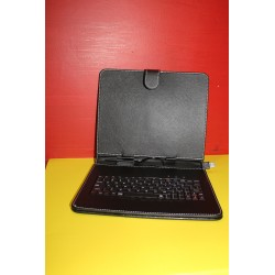 "Funda tablet universal  9,7"" Polipiel Negra"